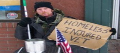 A staggering and disgraceful 41% of disabled veterans are unemployed and/or homeless